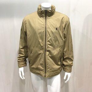 Ralph Lauren Men's Beige Hooded Jacket